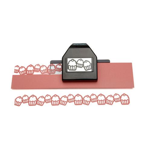 EK Success - Paper Shapers - Slim Profile - Large Edger Punch - Cupcake Chain