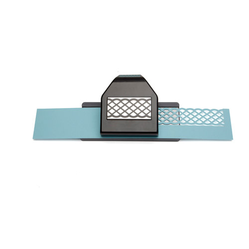 EK Success - Paper Shapers - Slim Profile - Large Edger Punch - Lattice Chain