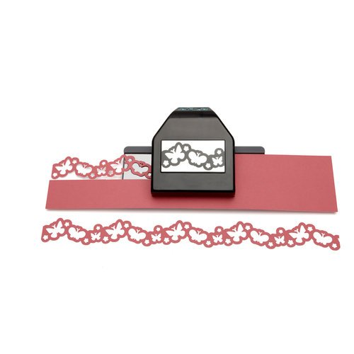 EK Success - Paper Shapers - Slim Profile - Large Edger Punch - Butterfly Chain, CLEARANCE