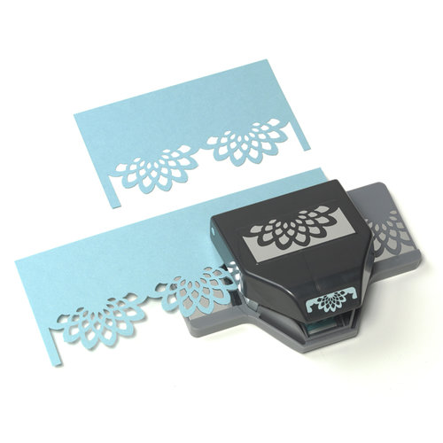 EK Success - Paper Shapers - Slim Profile - Large Edger Punch - Flower Burst