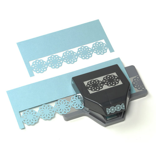 EK Success - Paper Shapers - Slim Profile - Large Edger Punch - Abstract Flower Chain