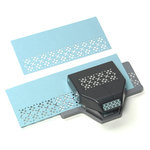 EK Success - Paper Shapers - Slim Profile - Large Edger Punch - Argyle