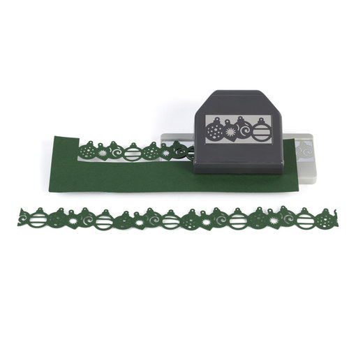 EK Success - Christmas - Slim Profile - Large Edger Punch - Ornaments
