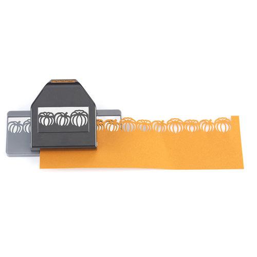 EK Success - Paper Shapers - Halloween - Slim Profile - Large Edger Punch - Pumpkin Patch