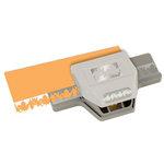 EK Success - Paper Shapers - Slim Profile - Large Edger Punch - Leaf Chain