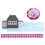 EK Success - Paper Shapers - Slim Profile - Large Edger Punch - Carnation Petals