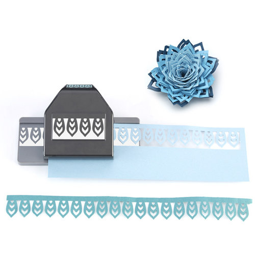 EK Success - Paper Shapers - Slim Profile - Large Edger Punch - Dahlia Petals
