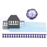 EK Success - Paper Shapers - Slim Profile - Large Edger Punch - Doily Petals