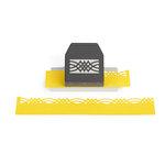 EK Success - Paper Shapers - Slim Profile - Layering Edger Punch - Calligraphy Scroll