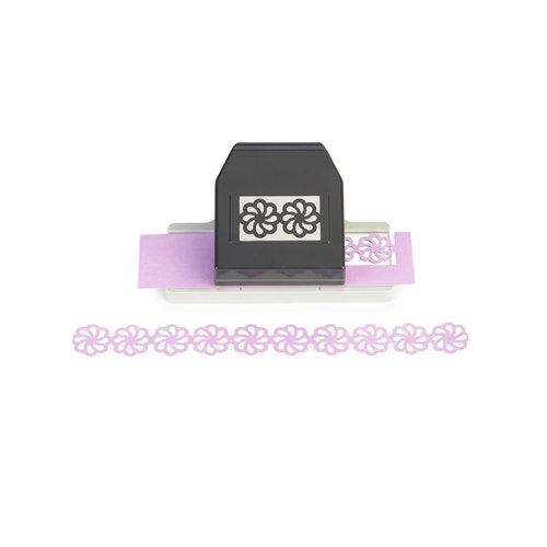 EK Success - Paper Shapers - Slim Profile - Layering Edger Punch - Groovy Flower