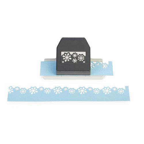 EK Success - Paper Shapers - Slim Profile - Layering Edger Punch - Snow Flurries