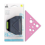 EK Success - Paper Shapers - Slim Profile - Corner Punch - Swiss Cheese