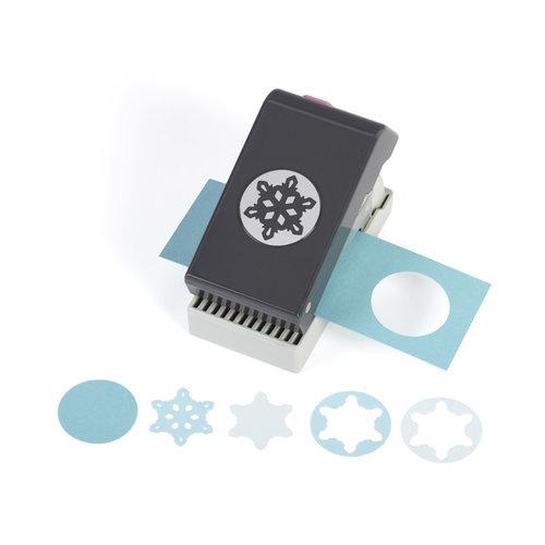 EK Success - Christmas - Slim Profile - Layering Punch - Snowflake
