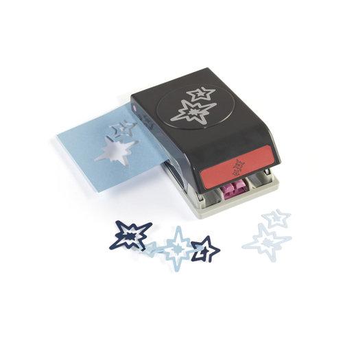 EK Success - Christmas - Slim Profile - Garland Punch - Stars