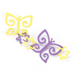 EK Success - Paper Shapers - Slim Profile - Garland Punch - Butterfly and Flower