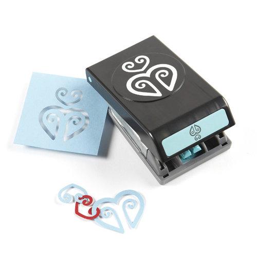 EK Success - Paper Shapers - Slim Profile - Garland Punch - Heart