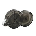 Herma Dotto Dots Roll Dispenser - Repositionable - Black