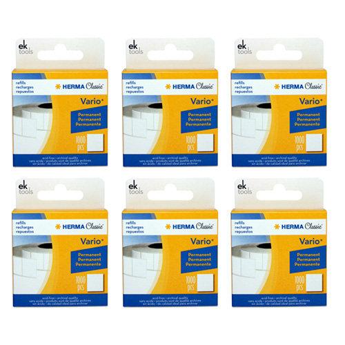 EK Success - Herma Vario Tab Dispenser Refill - 6 Pack