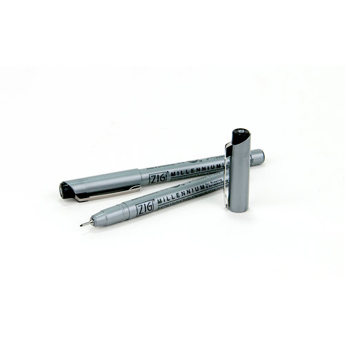 EK Success - ZIG Millennium Pens - Black - 2 Pack
