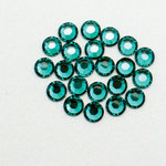 EK Success - Jolee's Jewels - Crystallized Swarovski Elements Collection - Flat Back Hotfix Jewels - 5 mm - Blue Zircon