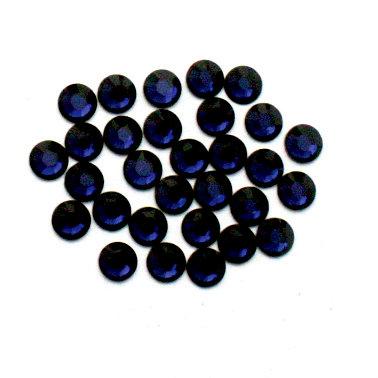 EK Success - Jolee's Jewels - Crystallized Swarovski Elements Collection - Flat Back Hotfix Jewels - 4 mm - Dark Indigo