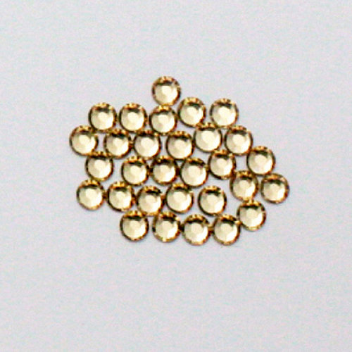 EK Success - Jolee's Jewels - Crystallized Swarovski Elements Collection - Flat Back Jewels - 4 mm - Light Colorado Topaz