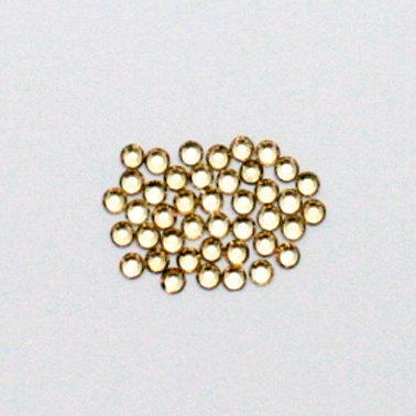EK Success - Jolee's Jewels - Crystallized Swarovski Elements Collection - Flat Back Jewels - 3 mm - Light Colorado Topaz