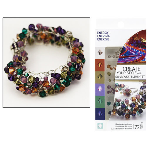 EK Success - Create Your Style - Fashion Kits Collection - Jewelry - Energy Crystal Assortment
