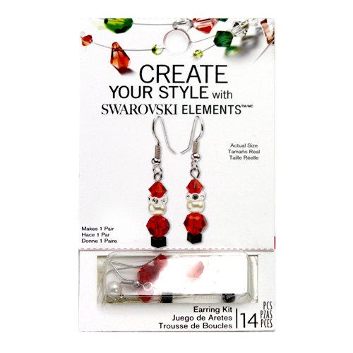 EK Success - Create Your Style - Christmas - Jewelry - Earring Kit - Santa