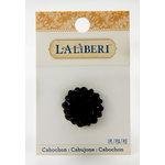 EK Success - Laliberi - Jewelry - Cabochons - Large Flower - Black