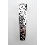 EK Success - Jolee's Jewels - Jewelry Interchangeable Pendant Bail - Swirls - Silver, BRAND NEW
