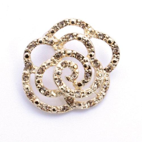 EK Success - Jolee's Jewels - Crystallized Swarovski Elements Collection - Celebrations - Jewelry Pendant - Rose Garden - Light Colorado Topaz