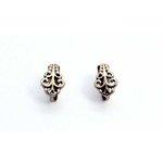EK Success - Jolee's Jewels - Jewelry Interchangeable Ear Posts - Filigree Swirl - Gold