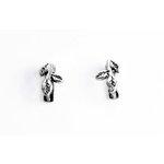 EK Success - Jolee's Jewels - Jewelry Interchangeable Ear Posts - Branch - Silver