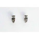 EK Success - Jolee's Jewels - Jewelry Interchangeable Ear Posts - Flower Diecut - Silver