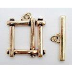 EK Success - Jolee's Jewels - Jewelry Toggle Closure - Basket Weave - Gold