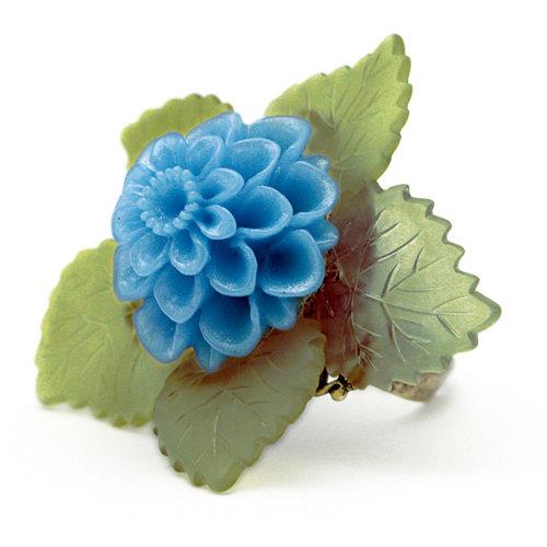EK Success - Laliberi - Jewelry - Ring Kit - Cabochon and Leaves