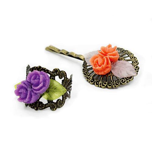 EK Success - Laliberi - Jewelry - Kit - Ring and Pin Set