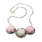 EK Success - Laliberi - Jewelry - Necklace Kit - Triple Accents Flowers