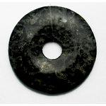 EK Success - Jolee's Jewels - Jewelry Stone Pendant - Donut - Kamacite Jasper
