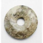 EK Success - Jolee's Jewels - Jewelry Stone Pendant - Donut - Purple Agate