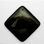EK Success - Jolee's Jewels - Jewelry Stone Pendant - Diamond - Gold Obsidian