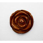 EK Success - Jolee's Jewels - Jewelry Stone Pendant - Carved Rose - Orange