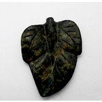 EK Success - Jolee's Jewels - Jewelry Stone Pendant - Engraved Leaf - Kamacite