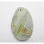 EK Success - Jolee's Jewels - Jewelry Stone Pendant - Slice - Yellow Agate