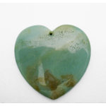 EK Success - Jolee's Jewels - Jewelry Stone Pendant - Heart - Amazonite