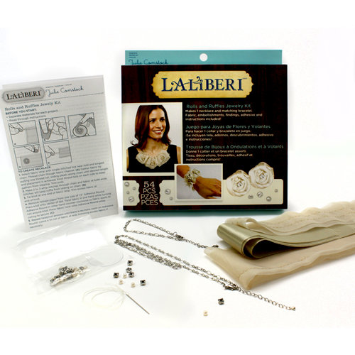 EK Success - Laliberi - Julie Comstock - Jewelry - Necklace Kit - Light Rolls and Ruffles