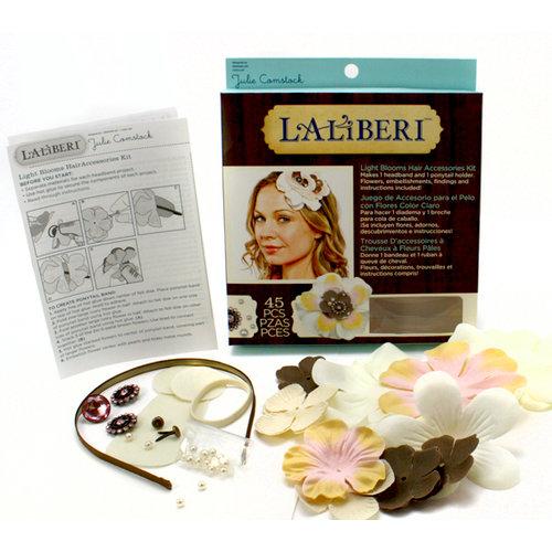EK Success - Laliberi - Julie Comstock - Jewelry - Hair Accessory Kit - Light Blooms