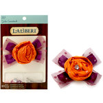 EK Success - Laliberi - Julie Comstock - Jewelry - Embellish a Bloom Kit - Light Orange Bow