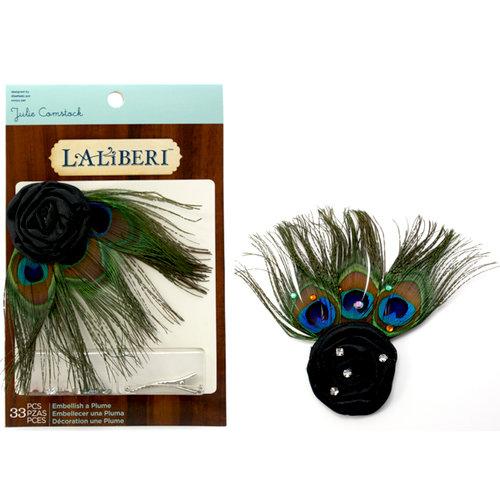 EK Success - Laliberi - Julie Comstock - Jewelry - Embellish a Plume - Peacock
